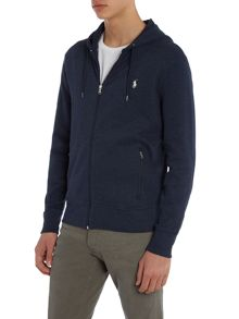 Full Zip french rib hoodie