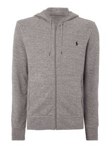 Long sleeve full zip hooded sweat