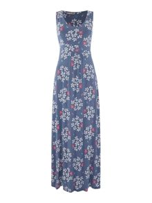 LILY & ME Floral printed maxi dress
