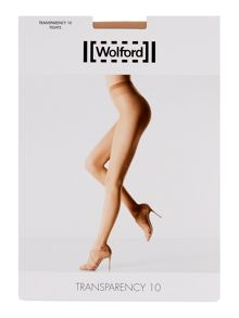 Wolford Transparency 10 denier tights