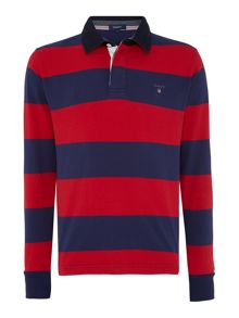 Stripe Long Sleeve Rugby