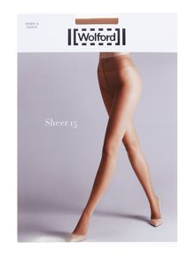 Wolford Sheer 3 pair pack 15 denier tights