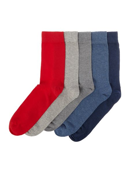 Criminal 5 Pack Socks