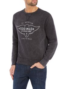 Polo Ralph Lauren Born to ride loft crew sweat