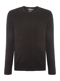 Cashmere crew knit tee