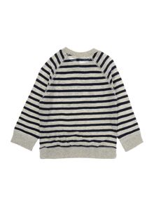 Benetton Boys Breton striped sweater