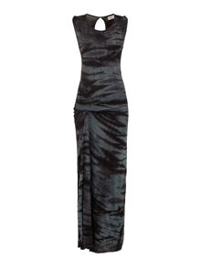 Label Lab Tie dye jersey maxi dress