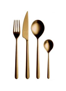 Mepra 24 Piece cutlery set ice oro