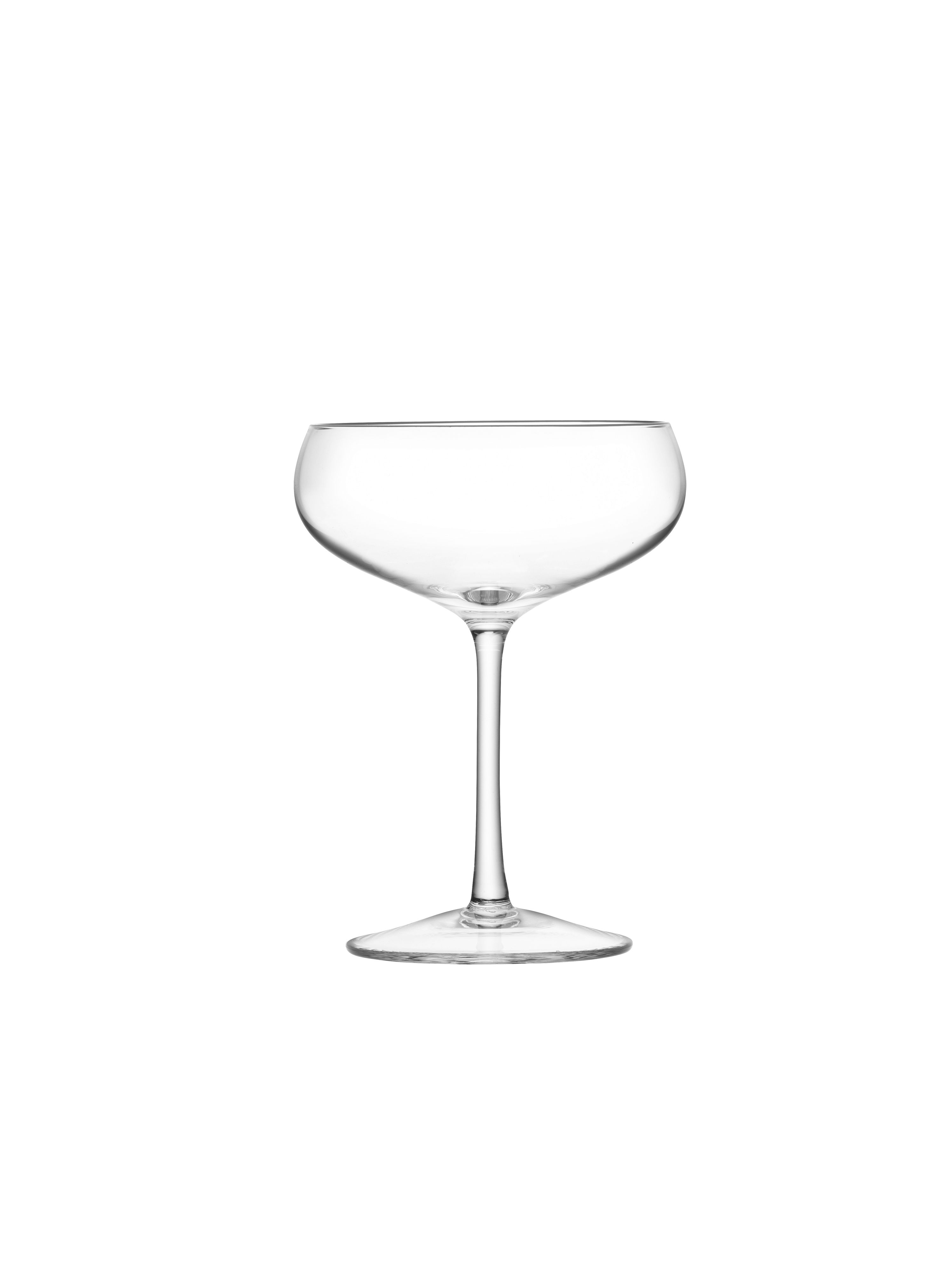 Image of LSA 24 Champagne Saucers, 215ml