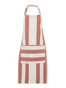 Gray & Willow Red stripe apron