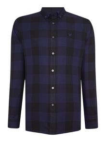 Lyle and Scott Block Check Long Sleeve Shirt