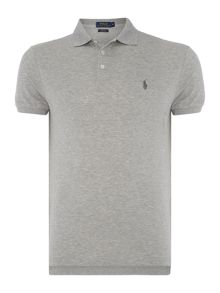 Slim Fit Stretch Mesh Polo Shirt