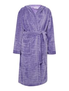 Cyberjammies Textured fleece hooded robe