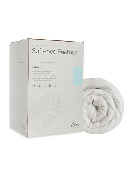 Linea Softened feather duvet 13.5 TOG