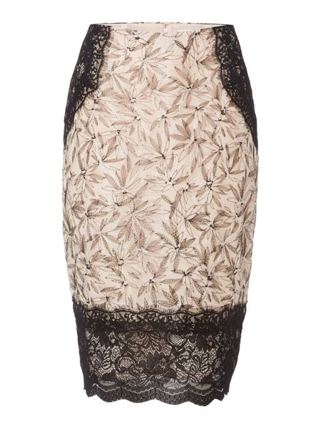 Linea Louisa embroidered skirt