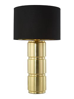 Clarissa gold table lamp