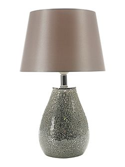CELISE MOSIAC SILVER TABLE LAMP