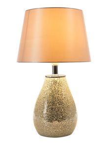 Linea CELISE MOSIAC SILVER TABLE LAMP