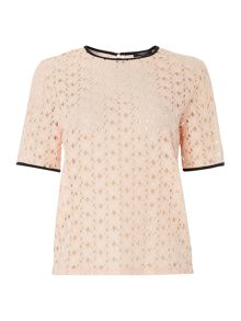 Therapy Lace Shell Top