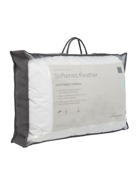 Linea Softened feather mattress topper