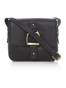 Village England Mini cranleigh black mini cross body bag