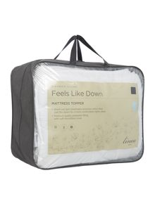Linea Feels like down mattress topper
