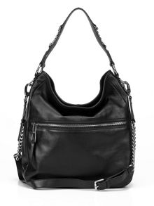 Village England Avebury black hobo bag