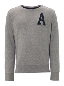 Benetton Boys A logo sweater