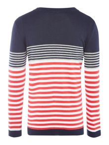 Benetton Boys Stripe jumper