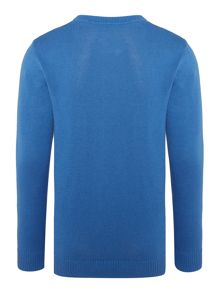 Benetton Boys Logo jumper