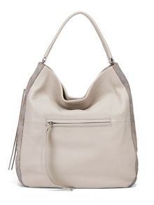 Village England Turville taupe hobo bag