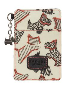 Radley Fleet street ivory travel card holder