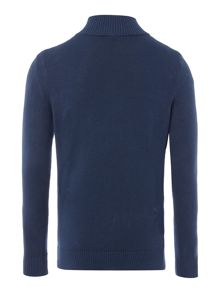 Benetton Boys Zip through sweater