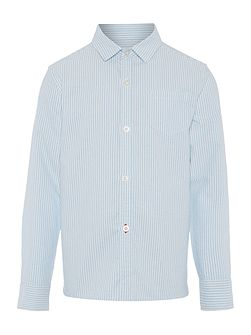 Boys Stripe Oxford Shirt