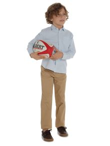 Howick Junior Boys Stripe Oxford Shirt