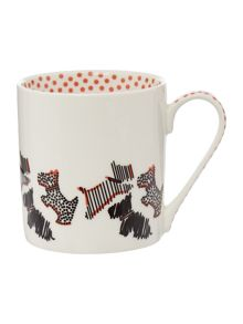 Radley Fleet street ivory single mug