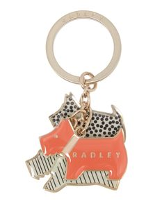 Radley Fleet street multi boxed key ring