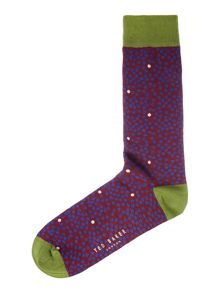 Ted Baker Multiso spot sock