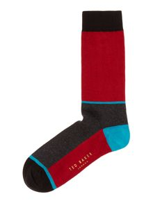 Ted Baker Newkid colour blocked sock