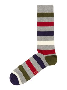 Ted Baker Onestre stripe sock