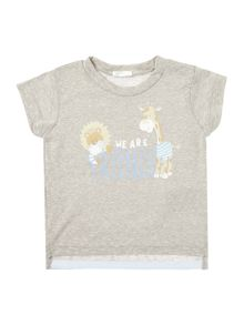Benetton Boys Animal graphic tee