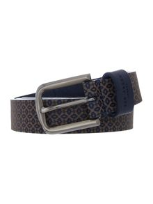 Ted Baker Bossin geo embossed belt