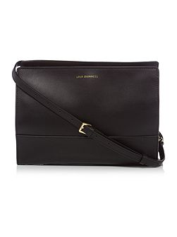 Daphne black medium cross body bag