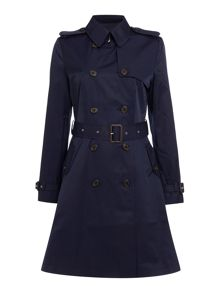 Kent belted trench coat