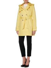 Lauren Ralph Lauren Belted trench with removeable hood