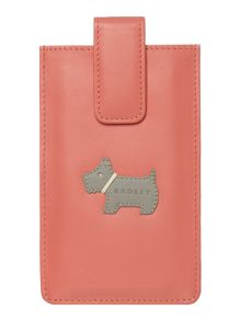 Heritage dog coral iphone case
