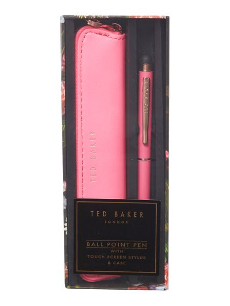 Ted Baker Pink touchscreen pen