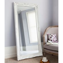 Shabby Chic Elise White Statement Mirror