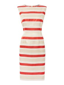 Linea Odette stripe shift dress