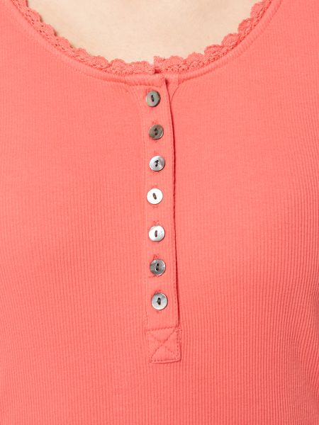 Brakeburn Ribbed button up top